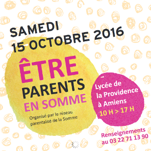 être parents en Somme 2016
